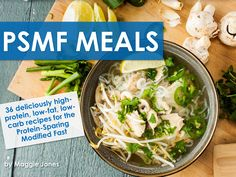 PSMF Meals eBook: 36 high-protein low fat low carb recipes for the Protein Sparing Modified Fast Paleo Diet Plan, Diet Plan Menu, Psmf Diet, Ketogenic Diet, Protein Sparing Modified Fast, Low Fat Low Carb, Best Diets To Lose Weight Fast, Fat Burning Foods, Low Carb Recipes