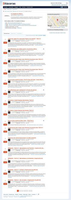 #TuCambioEsAhora en Bitácoras: 'http://bitacoras.com/bitacora/tucambioesahora.blogspot.com'