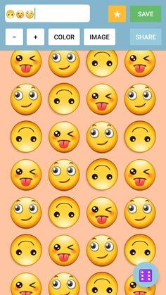 13 Best Emoji Wallpaper Maker App images in 2017 | Wallpaper