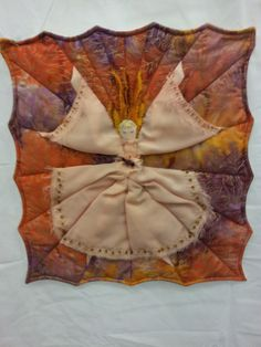 Angel mini-quilt