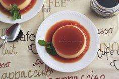 Bánh Flan (Caramel) sữa Dừa | Candy Can Cook Caramel Flan, Creme Dessert, Panna Cotta, Pudding, Baking, Ethnic Recipes, Desserts, Food, Bread Making