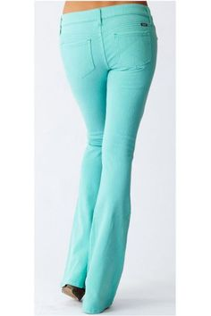 Eco friendly mint jeans...a must have!