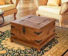 This Handsome Wood Pellet Storage Chest Is Made From An Old Pallet Who Knew