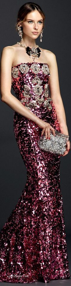 Dolce & Gabbana Summer 2016 by tamra Women's Dresses, Dress Vestidos, Pretty Dresses, Couture Fashion, Runway Fashion, High Fashion, Glamour, Lila Gold, Style Work