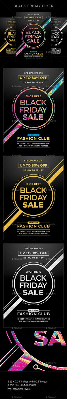 Buy Black Friday by sunilpatilin on GraphicRiver. Black Friday Black Friday Flyer is designed for all kind of Sales events! The flyer is fully layered and organized to. Envato Elements, Text Tool, Event Flyer Templates, Sale Flyer, Get It Now, Black Friday Shopping, Off Black, Fashion Sale, Print Templates