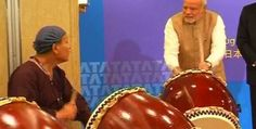 Drummer Prime Minister has a fan