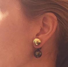 Camille K Reversable Signature Earring