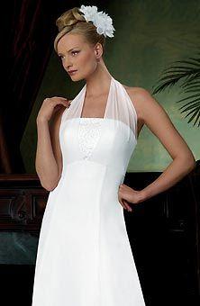 Halter Wedding Dresses | Brides.com