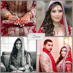 Banglez Bling contestant - Sara! PLEASE 'Like' TO VOTE:) #Sara #contest #banglezbling #weddingjewelry #banglez #bridal #bridaljewelry #polki #kundan #red #gold #beautiful #southasian #necklace #earrings #tikka