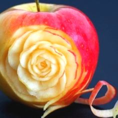 Fruit art, is this real or done digitally? Either way its very pretty