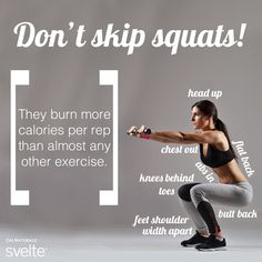 When in doubt, #squat it out! #FitnessFriday #fitforlife #exercise