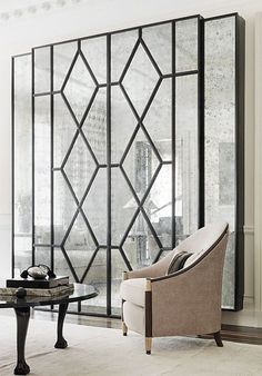 What is Art Deco? Add inspired design to your home with Art Deco style! Make your home look vintage, classy, elegant. Interior Design Minimalist, Decor Interior Design, Interior Decorating, Art Deco Interior Living Room, Art Deco Bedroom, Interior Modern, Art Deco Design, Wall Design, Design Room