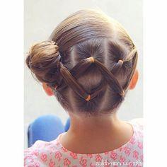 peinados-para-ninas-ligas-chongo