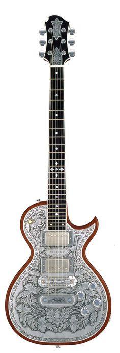 ZEMAITIS MF501DS-NT Metal Front™ Guitar