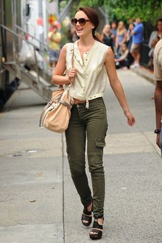 Cargo pants and shoes <3