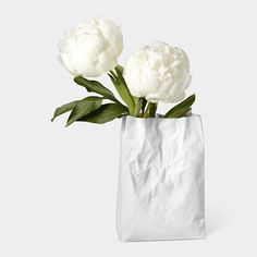 Crinkle Bag Vase from MOMA store...