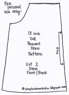 for the next time i need to make an american girl doll dress Ropa American Girl, American Girl Outfits, American Girl Dress, American Doll Clothes, American Dolls, Peasant Dress Patterns, Doll Dress Patterns, Peasant Blouse, Sewing Doll Clothes