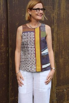 Sew Tessuti Blog - Sewing Tips & Tutorials - New Fabrics, Pattern Reviews: More of our NEW Kate Top - ideas and inspiration