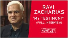 """RAVI ZACHARIAS: """"My Most Asked Question"""" & Personal Testimony (Full Interview) - YouTube Christian Verses, Christian Videos, Christian Faith, Prayer Line, Ravi Zacharias, Born Again Christian, Bible Study Notebook, Most Asked Questions, Human Soul"""