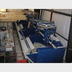 Denver flotation cell supplier | Denver no. 24 bank of 4 flotation cells for sale - Savona Equipment