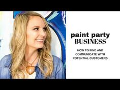 In this video I will show you my secrets in starting a paint and sip business. The biggest challenge in this paint and drink class is to fill your tables wit. Administrative Work, Paint And Drink, Paint Party, Texas, Artsy, Drawing, Business, Youtube, Painting