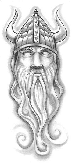 new-grey-ink-old-viking-tattoo-design.jpg (254×576)