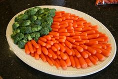 cute easter veg tray