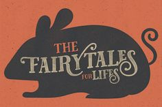 Fairy Tales #display #type #CreativeMarket #designresources #typography #typeface #lettering #handlettering