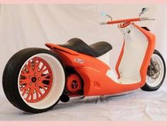 Modif Yamaha Mio Bergaya Chopper dan Lowrider