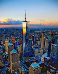 90 Things to Do in New York City - Best NYC Museums, Restaurants, Shopping and Visit New York City, One World Trade Center, Carthage, City Aesthetic, Most Beautiful Cities, New York Travel, First World, New York Skyline, Nyc