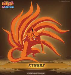 Kyuubi by alxnarutoall.deviantart.com on @deviantART