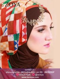 Lavisya Hijab: Zoya Kerudung Chessy Check  -  Rp. 79,000