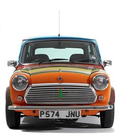 Classic mini copper