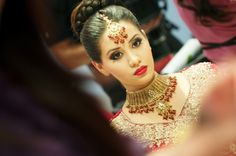 indian bridal makeup to die for