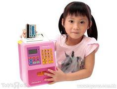 Just Like Home Hong Kong Dollar ATM Bank Atm Bank, Kong Toys, Toy R, Toys R Us, Chefs, Hong Kong