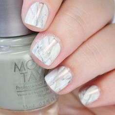 More Marble Nails and a Dreamy Copper Nail Polish