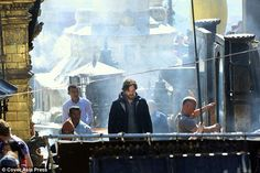 DOCTOR STRANGE ~ Benedict Cumberbatch behind-the-scenes while filming on location in Nepal.