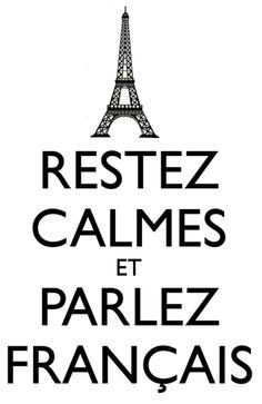Fale francês !
