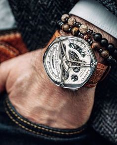 See luxury watches. Patek Phillippe, Hublot, Rolex and much more. Stylish Watches, Luxury Watches For Men, Cool Watches, Men's Watches, Skeleton Watches, Luxury Watch Brands, Swiss Army Watches, Expensive Watches, Beautiful Watches
