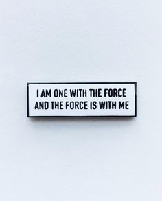 #Repost @pinlord  I Am One With The Force and The Force Is With Me pin from me @pinlord  I am One with The Force and The Force is with me...I am One with The Force and The Force is with me...I am One with The Force and The Force is with me... Be one with The Force and buy it through my @pinlord link in bio     (Posted by https://bbllowwnn.com/) Tap the photo for purchase info. Follow @bbllowwnn on Instagram for great pins patches and more!