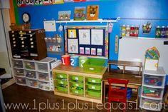 preschool organization ideas