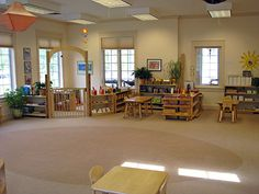 montessori classroom images | At The Primary Montessori Day School, learning is based on the ...
