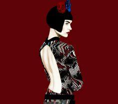 Etro Winter image by Erik Madigan Heck Fashion Poses, Fashion Shoot, Fashion Art, Editorial Fashion, Fashion Design, Fashion Editorials, Louise Brooks, Magazine Images, Fashion Advertising