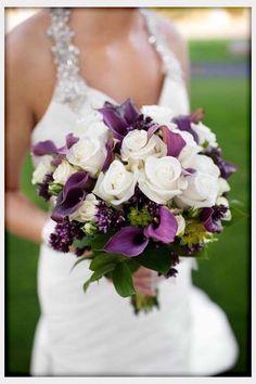 purple bouquets | Wedding Flowers, Purple Flower Bouquets For Weddings: 26 ideas of ...