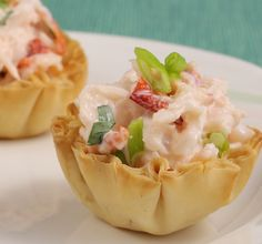 Love lobster? Click here for a fun Lobster Roll Phyllo Bites Recipe from Athens Foods using Athens Mini Fillo Shells.