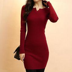 Resultado de imagen para vestidos de lana mujer