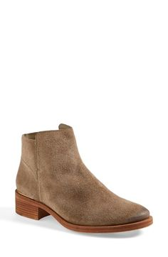 Free shipping and returns on Tory Burch 'Riley' Suede Ankle Boot (Women)(Nordstrom Exclusive) at Nordstrom.com. A goldtone logo medallion at the heel lends a subtle flash of signature glamour to a suede-crafted stacked-heel ankle boot.