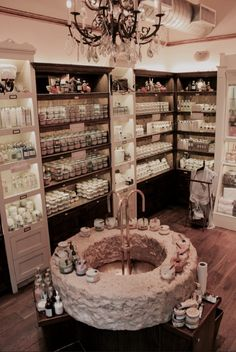 Sabon's Times Square location: 1450 Broadway, New York, NY, 10018 Spa Store, Esthetics Room, Luxury Master Bathrooms, Kitchen Pantry Design, Candle Store, Boutique Decor, Soap Shop, Retail Store Design, Shop Window Displays