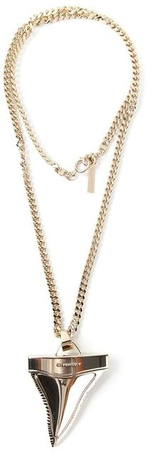 Givenchy shark tooth necklace