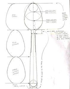 Para hacer cucharas a medida proporcional
